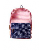 American Flag Print Canvas Bac..