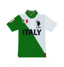 Boys Team Italy Polo Shirt