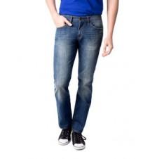 Slim Straight Fit Flapback Jean