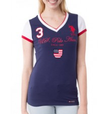 125th Anniversary USPA with Embroidery Flag Tee