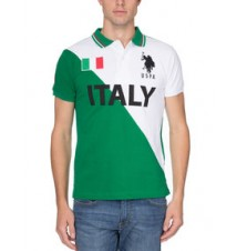 Slim Fit Team Italy Polo Shirt