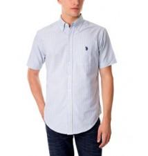 Woven Stripe Oxford Shirt