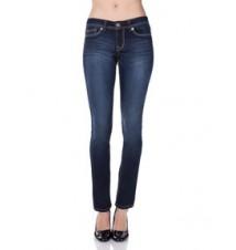 Multi Logo Skinny Fit Jean, Dark Wash