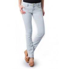 Jessie Contrast Straight Leg Jean