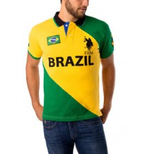 Slim Fit Brazil Polo Shirt