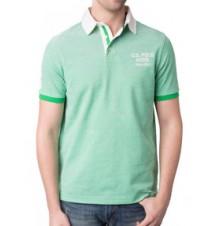 Two Tone Logo Polo Shirt