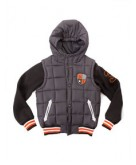 Boy's Puffer Vest with Sleeves..