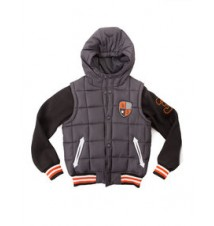 Boy's Puffer Vest with Sleeves