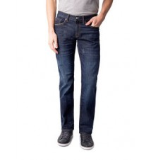 Pocket Logo Slim Straight Fit Jean