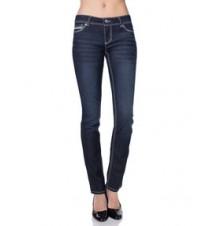 Vanessa Skinny Fit Jean, Dark Wash