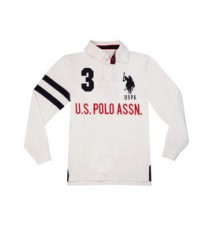 Boys Long-Sleeve Polo Shirt