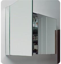 """Fresca 40"""" Wide Bathroom Medicine Cabinet w/"""