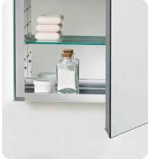 """Fresca 20"""" Wide Bathroom Medicine Cabinet w/"""