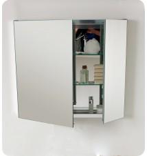 """Fresca 30"""" Wide Bathroom Medicine Cabinet w/"""