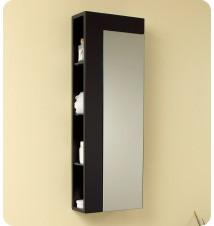 Fresca  Bathroom Linen Side Cabinet w/ Large Mirror Do