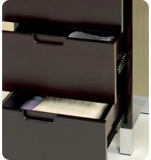 Fresca  Bathroom Linen Side Cabinet w/ 4 Storage Are
