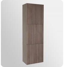 Fresca  Bathroom Linen Side Cabinet w/ 3 Large Storage Are