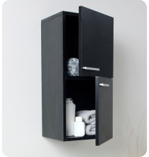 Fresca  Bathroom Linen Side Cabinet w/ 2 Storage Are