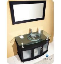 """Fresca Contento 43""""  Modern Bathroom Vanity w/ Mirror"""