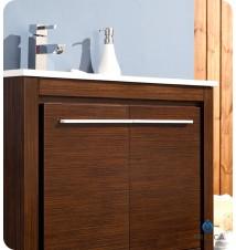 """Fresca Allier 30""""  Modern Bathroom Vanity w/ Mirror"""