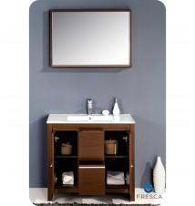 """Fresca Allier 36""""  Modern Bathroom Vanity w/ Mirror"""