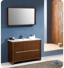 """Fresca Allier 48""""  Modern Bathroom Vanity w/ Mirror"""