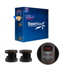 SteamSpa 12kw Steam Generator Package in Oil Rubbed Bronze