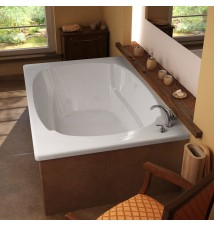 Venzi Aqui 48 x 72 Rectangular Whirlpool Jetted Bathtub