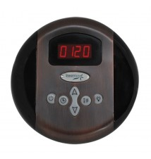 SteamSpa Control Panel with Time and Temperature Presents; Oil Rubbed Bronze