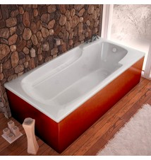 Venzi Aesis 32 x 60 Rectangular Whirlpool Jetted Bathtub