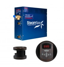 SteamSpa 4.5kw Steam Generator Package in Oil Rubbed Bronze