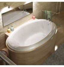 Venzi Grand Tour Vino 42 x 70 Oval Air & Whirlpool Jetted Bathtub