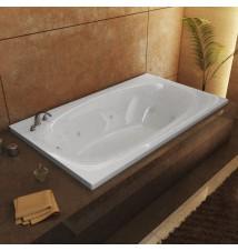 Venzi Talia 36 x 72 Rectangular Whirlpool Jetted Bathtub