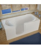 Venzi 30x60 Left Drain White S..