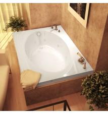 Venzi Viola 42 x 60 Rectangular Air & Whirlpool Jetted Bathtub